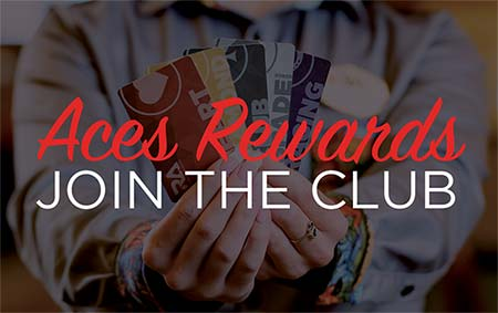 Aces Rewards Join the Club banner