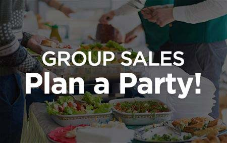 Group sales plan a party banner