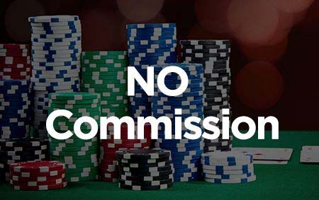 No Commission banner