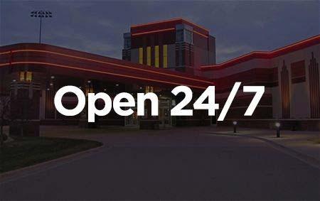Open 24/7 banner