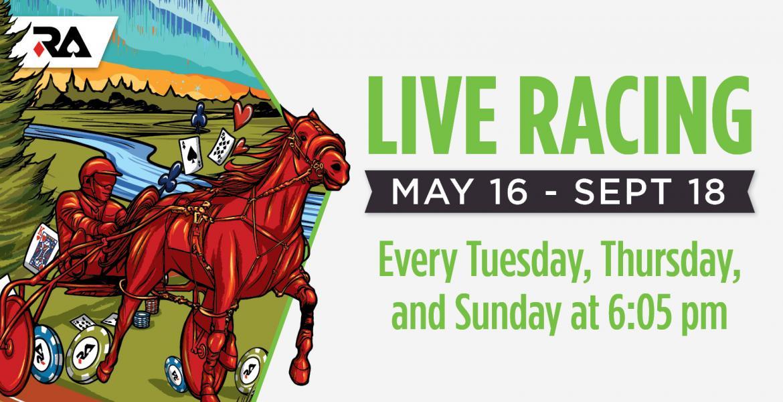 Live racing Banner
