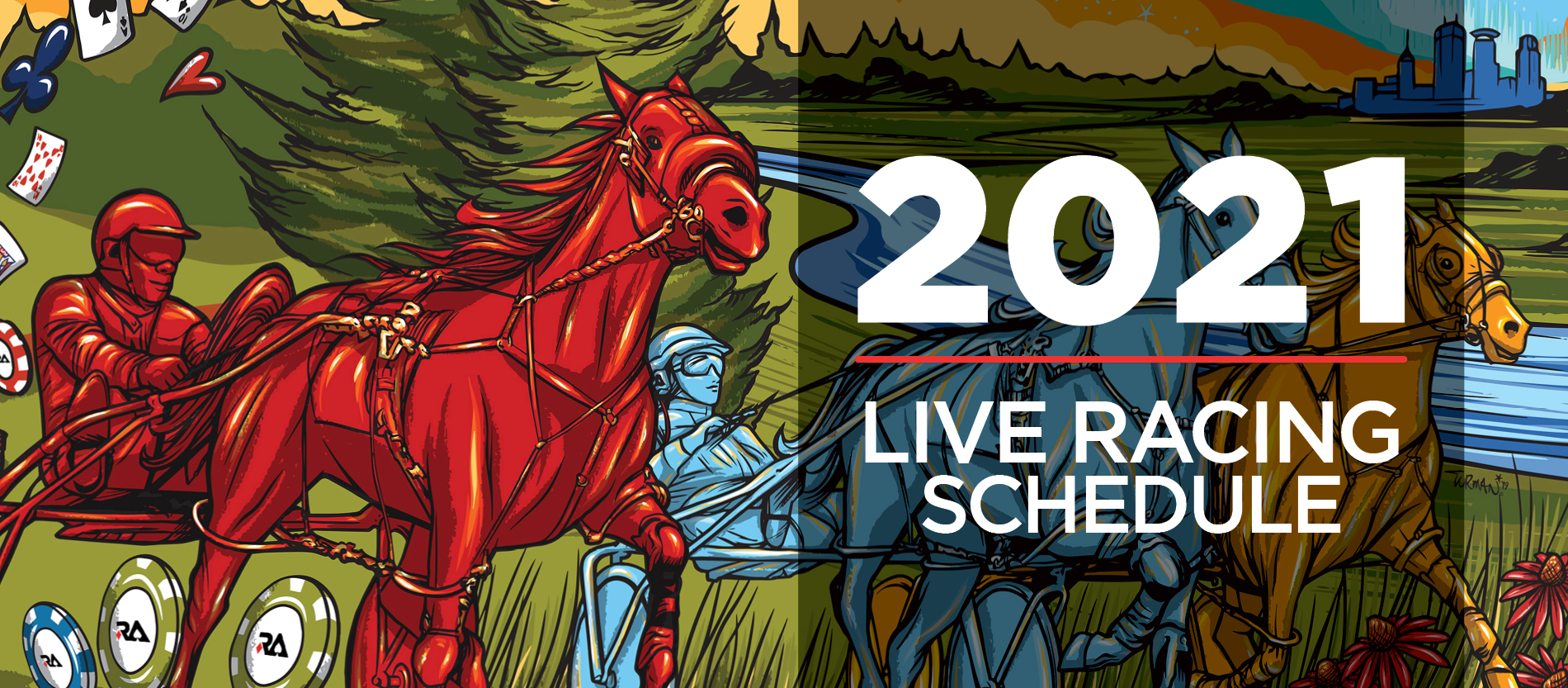 Live racing calendar