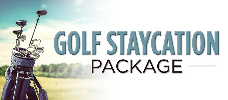 Golf Staycation banner